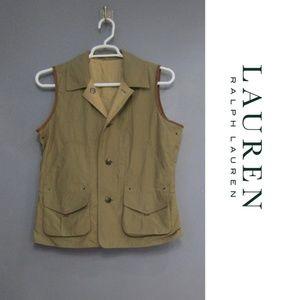 Lauren Ralph Lauren Reversible Field Vest Size L